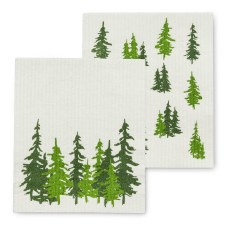 Evergreen Forest Eco Dishcloth