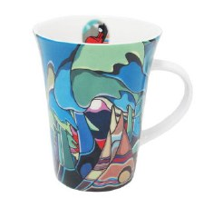 Daphne Odjig: And Some Watched the Sunset Porcelain Mug