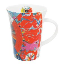 Alex Janvier: Morning Star Porcelain Mug