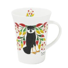 Kenojuak Ashevak: Owl's Bouquet Porcelain Mug