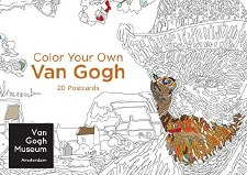 Van Gogh: Color Your Own Postcards