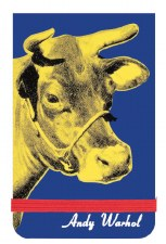 Andy Warhol Cow Mini Notebook