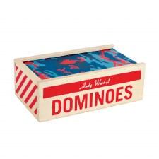 Andy Warhol Wooden Dominoes