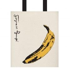 Andy Warhol Banana Canvas Tote Bag