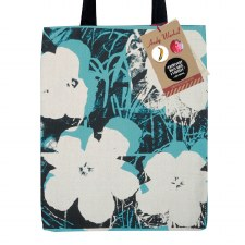 Andy Warhol Poppies Canvas Tote Bag