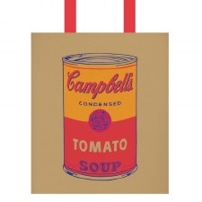 Andy Warhol Campbell's Soup Canvas Tote Bag