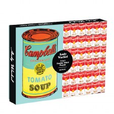 Andy Warhol Soup Can Double-Sided 500 Piece Jigsaw Puzzle