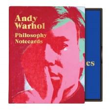 Andy Warhol Philosophy Greeting Assortment Notecard Set