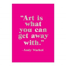 Andy Warhol Sticky Notes Hardcover Book