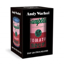 Andy Warhol Soup Can Stress Reliever