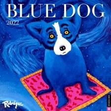 George Rodrigue: Blue Dog 2022 Wall Calendar