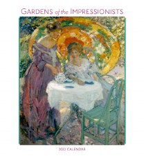 Gardens of the Impressionists: 2022 Wall Calendar