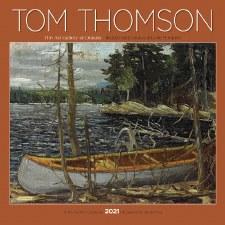 Tom Thomson 2021 Wall Calendar