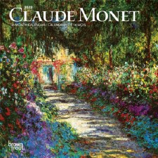Claude Monet: 2022 Mini Wall Calendar