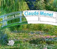 Prestel Colouring Book:Claude Monet
