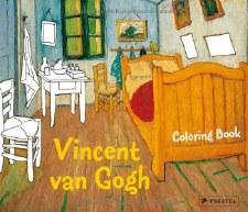 Prestel Colouring Book:Vincent Van Gogh