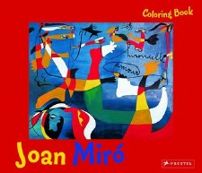 Joan Miró Colouring Book