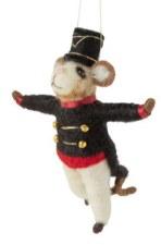 Ornament - Nutcracker Mouse Black Jacket