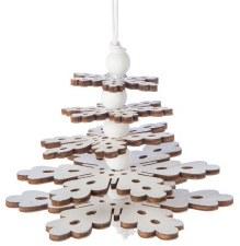 Ornament - Snowflake Tree