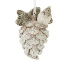 Ornament - Bird on Pine Cone