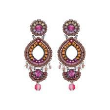 Ayala Bar: Hoop Earring - Secret Cave Pinks Olivia