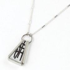 Anne-Marie Chagnon: Edwige Black & White Necklace