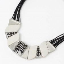 Anne-Marie Chagnon: Sonja Black & White Necklace