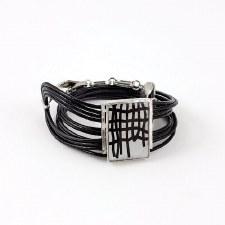 Anne-Marie Chagnon: Margareth Black & White Bracelet