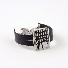 Anne-Marie Chagnon: Gilberte Black & White Bracelet