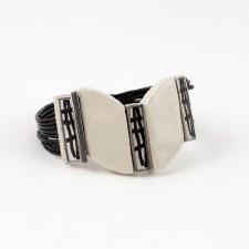 Anne-Marie Chagnon: Martha Black & White Bracelet