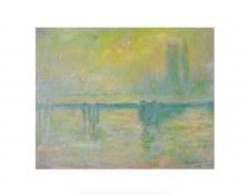 "Claude Monet: Charing Cross Bridge 11"" x 14"""
