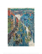 David Milne: Ripon High Street - 14x11