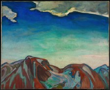 Frederick H. Varley: The Cloud, Red Mountain, 1927-1928