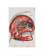 John Scott: Untitled (Skull) - 14x11