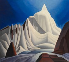 Lawren S. Harris: Mountains in Snow: Rocky Mountain Paintings VII, c. 1929