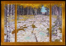 Lawren S. Harris: Autumn Forest with Glaciated Bedrock, Georgian Bay, c. 1914