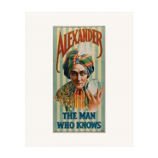 Print: Alexander, The Man Who Knows