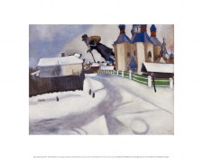Marc Chagall: Over Vitebsk - 11x14
