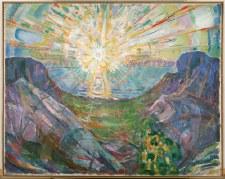 """Edvard Munch: The Sun - 11"""" x 14"""""""