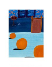 Matthew Wong: Untitled (Orange) - 11X14