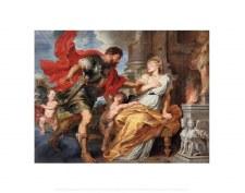 """Peter Paul Rubens: Mars and Rhea Silvia - 22"""" x 28"""""""