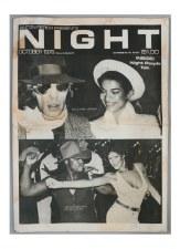Studio 54: NIGHT Magazine Notecard