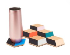 Table Tiles Multicolour Coasters