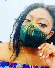 Beni Boo Dashiki Mask - Green
