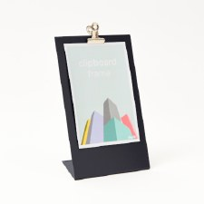 Block Clipboard Frame - Grey