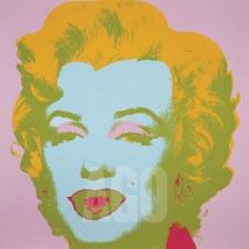 "Andy Warhol:  Marilyn 1967 Pale Pink 12"" x 12"""