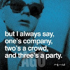 """Andy Warhol Quote: But I Always Say 12"""" x 12"""""""