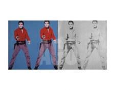 """Andy Warhol:  Elvis I & II 11"""" x 14"""""""
