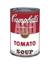 """Andy Warhol:  Campbell's Tomato 11"""" x 14"""""""