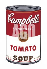 """Andy Warhol: Campbell's Tomato 13"""" x 19"""""""